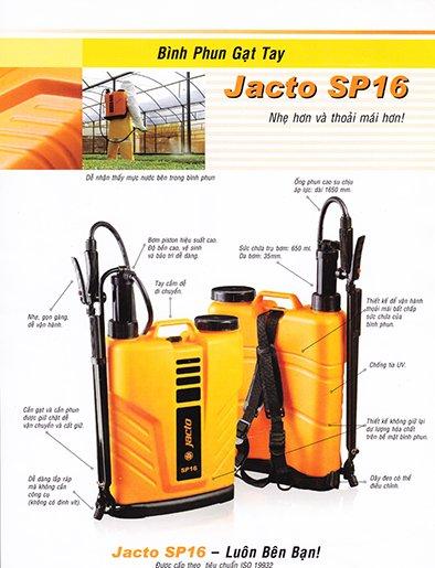 Bình xịt Jacto SP16