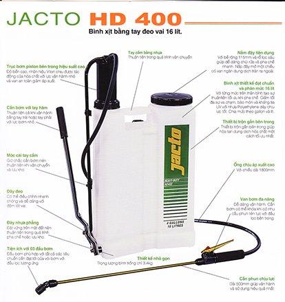 Bình xịt Jacto HD400
