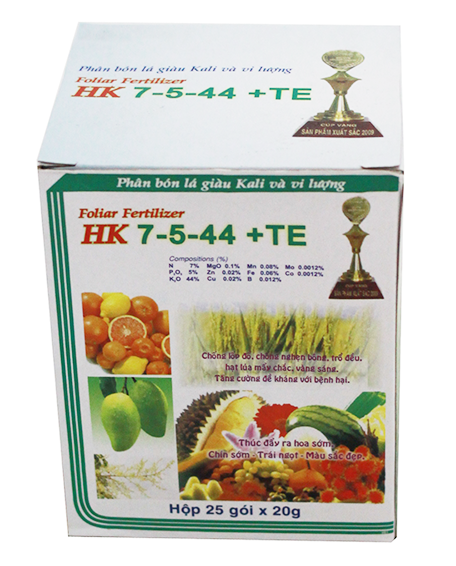HK 7-5-44 + TE Foliar Fertilizer
