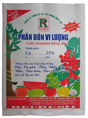 SULPHATE ĐỒNG THL