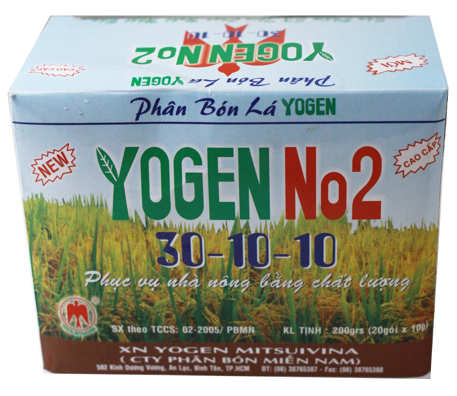 YOGEN NO2 30-10-10