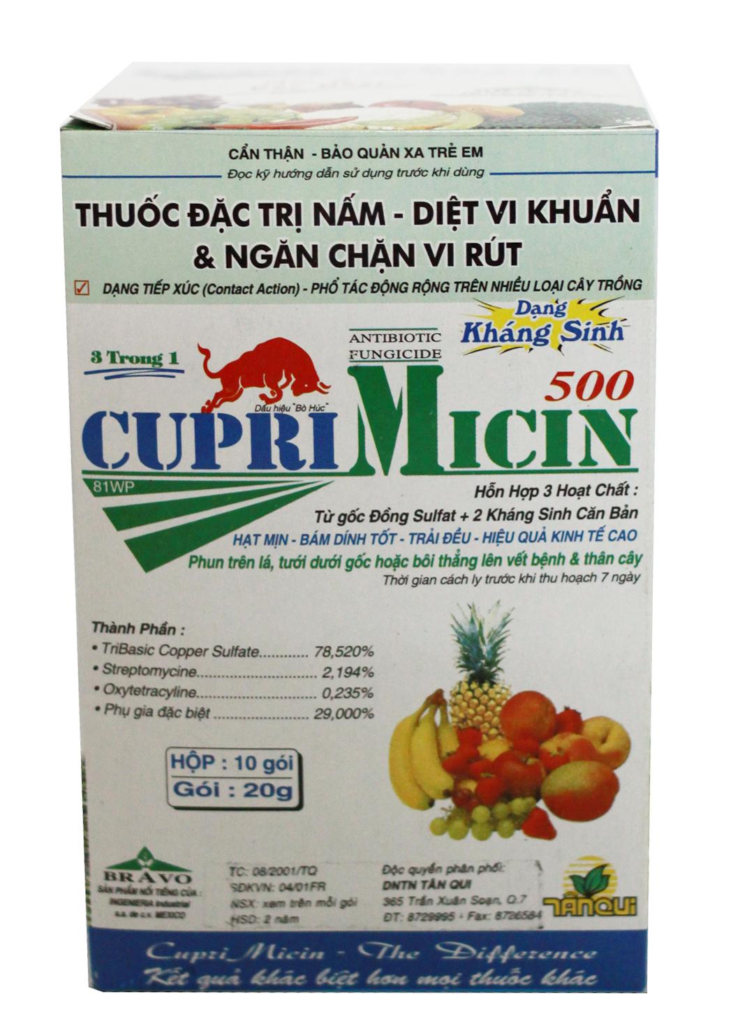 CUPRI MICIN 500