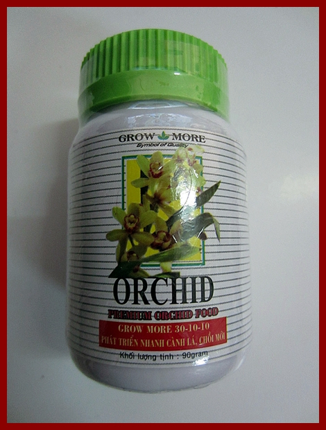 GROWMORE ORCHID 30-10-10