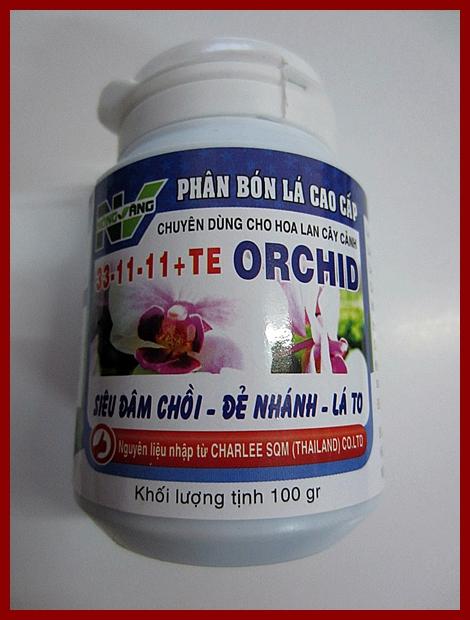 NÔNG VÀNG ORCHID 33-11-11