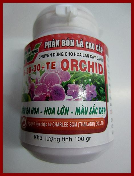 NÔNG VÀNG ORCHID 6-30-30
